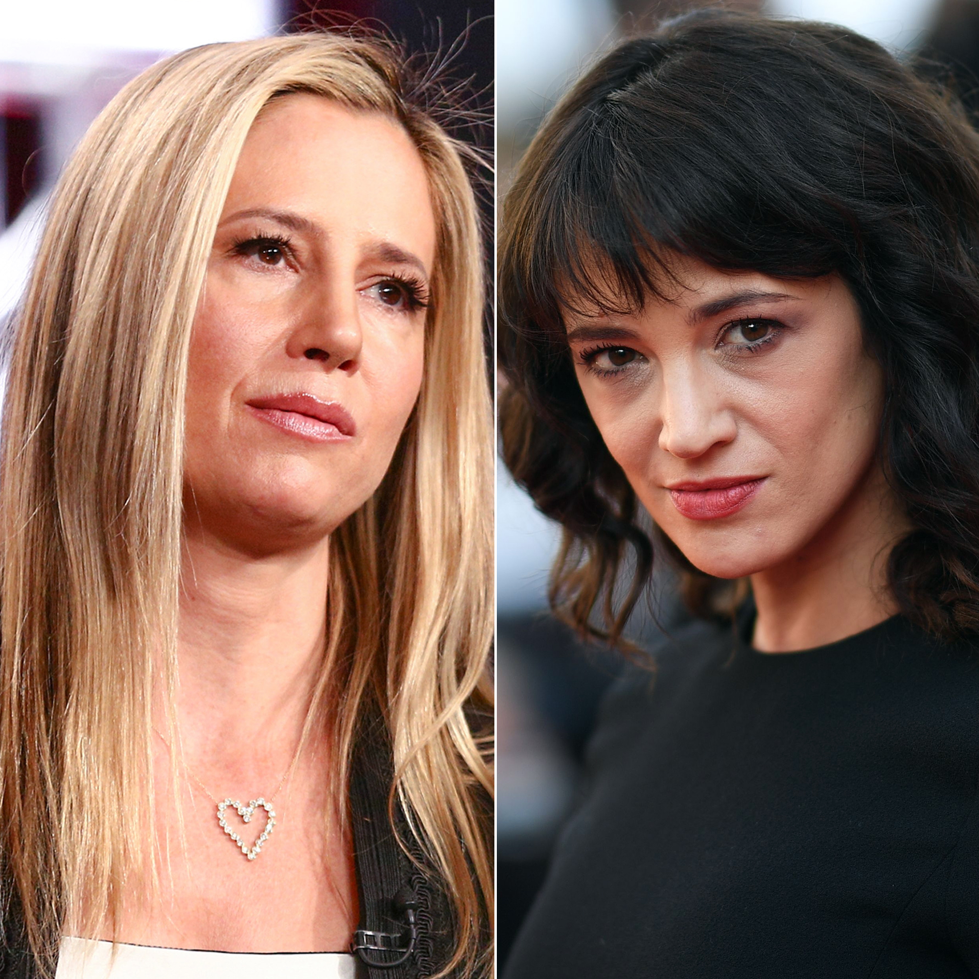 Mira Sorvino Is 'Heartsick' Over Asia Argento Sexual Assault Claim as Photo and Alleged Text Messages Surface