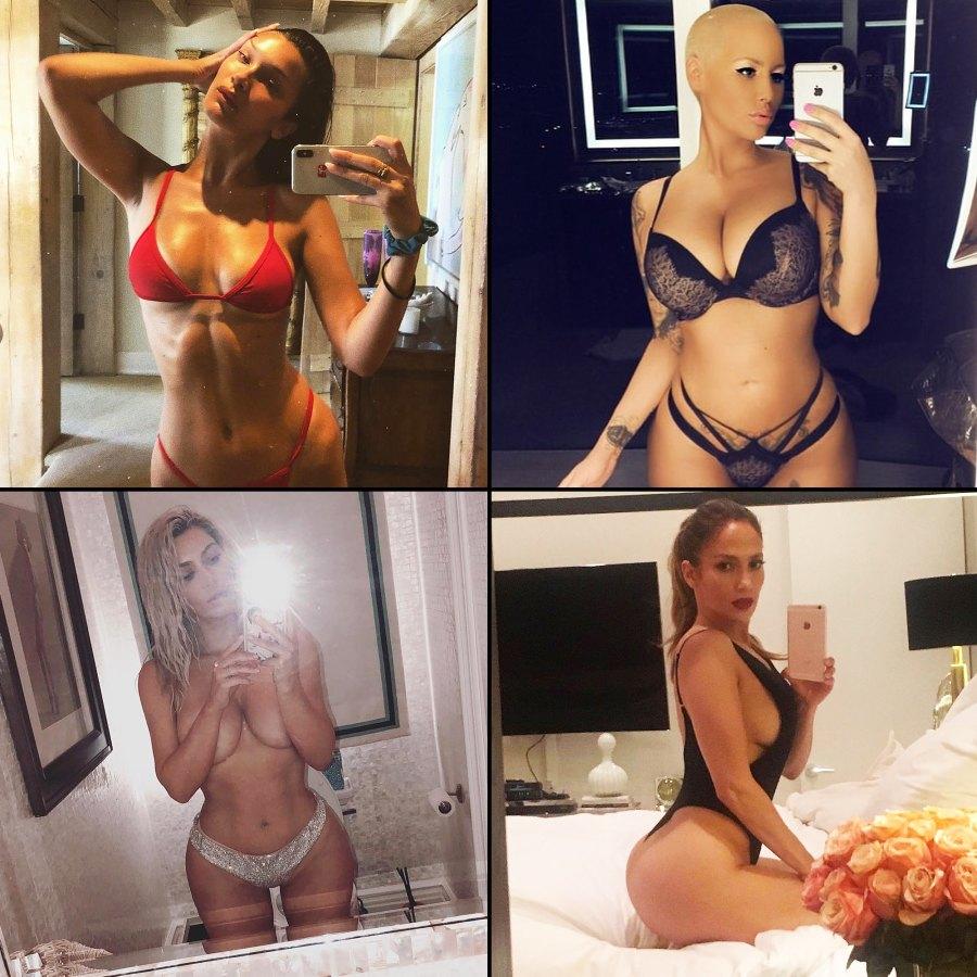 Nearly Nude Mirror Selfie