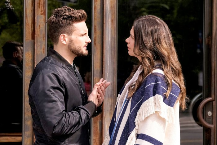 Nico Tortorella and Sutton Foster on Younger