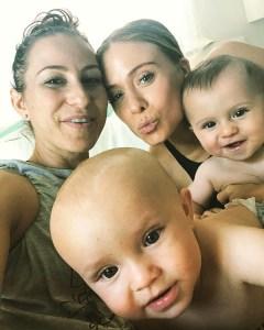 Rachel Robinson, Natalie Gee, Pregnant