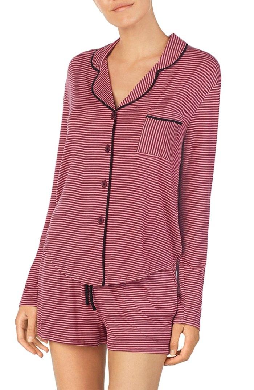 Room Service Notch Collar Short Jersey Pajamas
