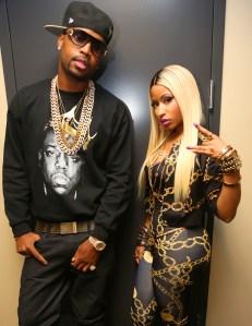 Safaree Samuels and Nicki Minaj