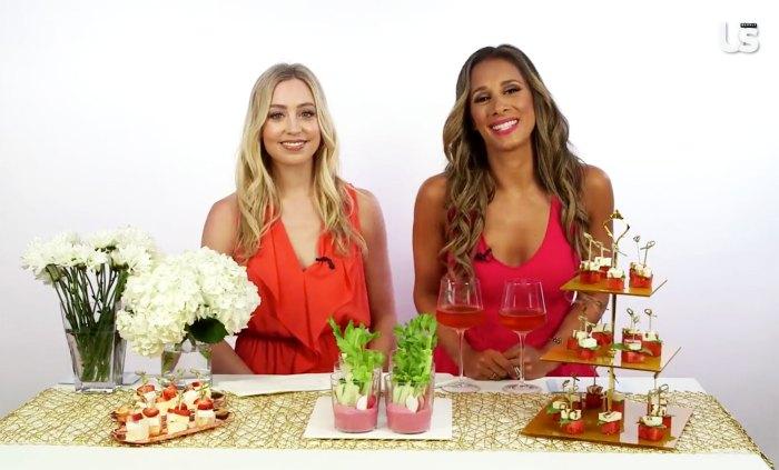 Skyler Bouchard Christina Garibaldi rose appetizer pairing
