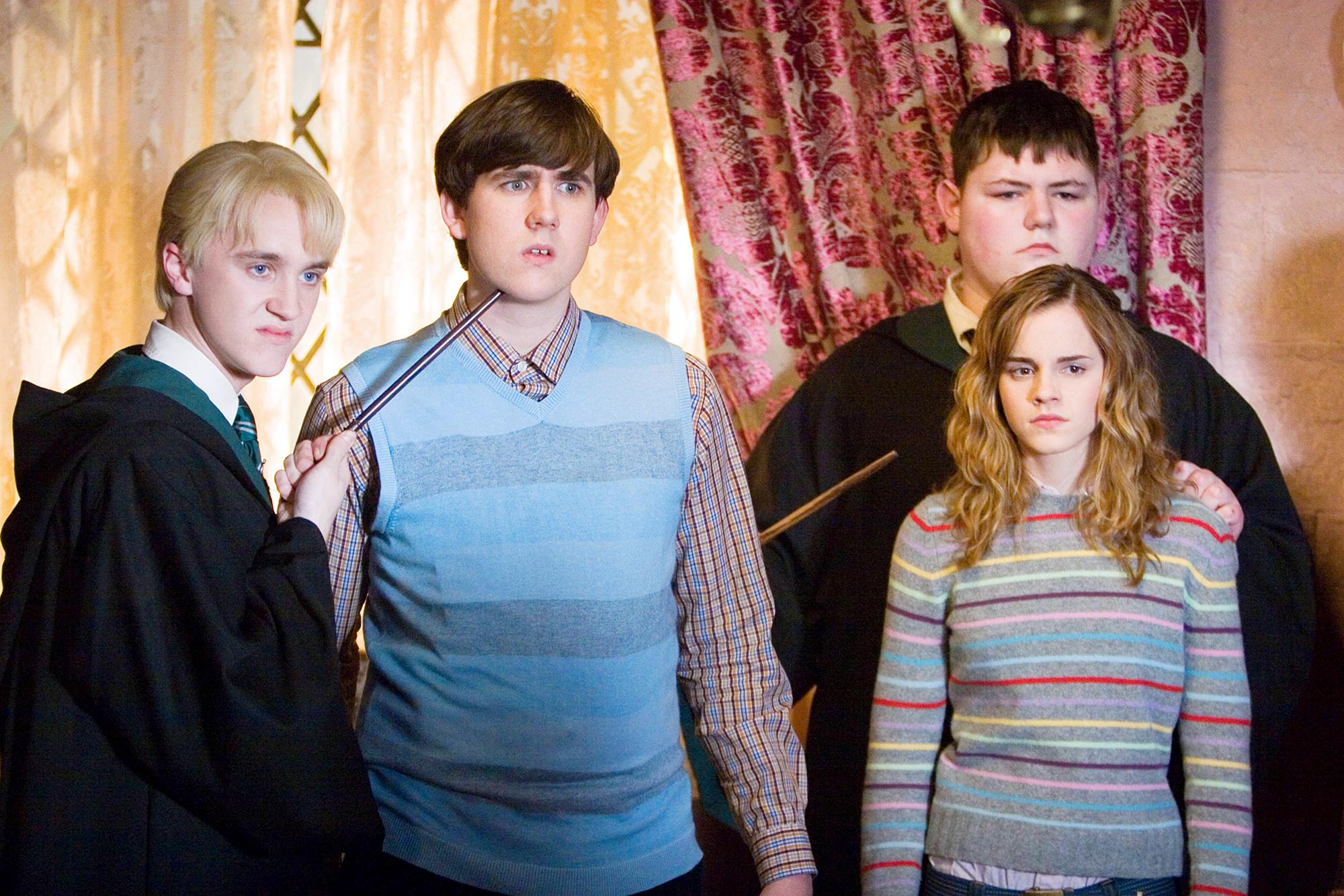 Tom Felton Matthew Lewis Harry Potter and The Order of the Phoenix