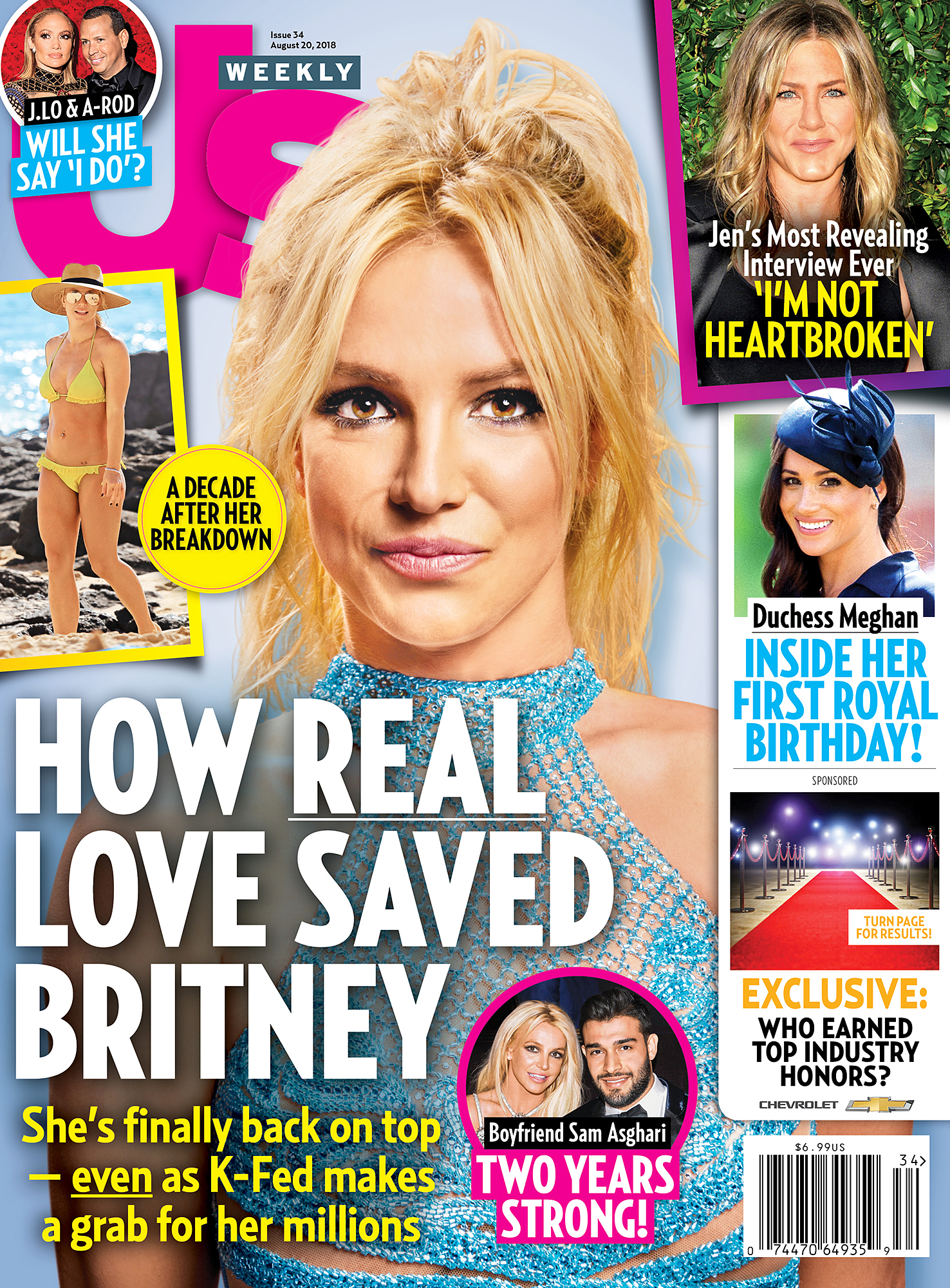 Us Weekly Cover Britney Spears