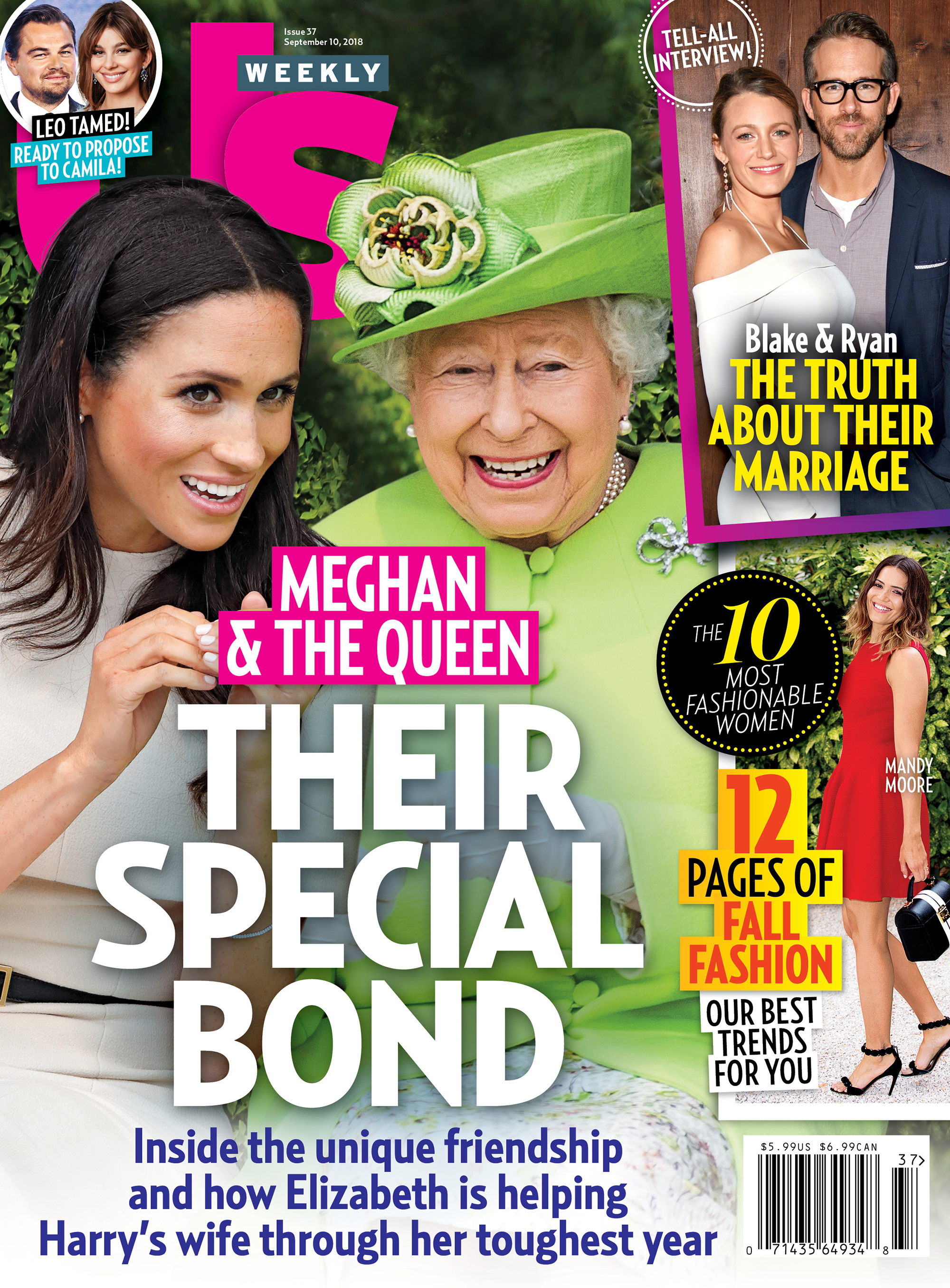 us weekly uw3718 cover Duchess Meghan Queen Elizabeth