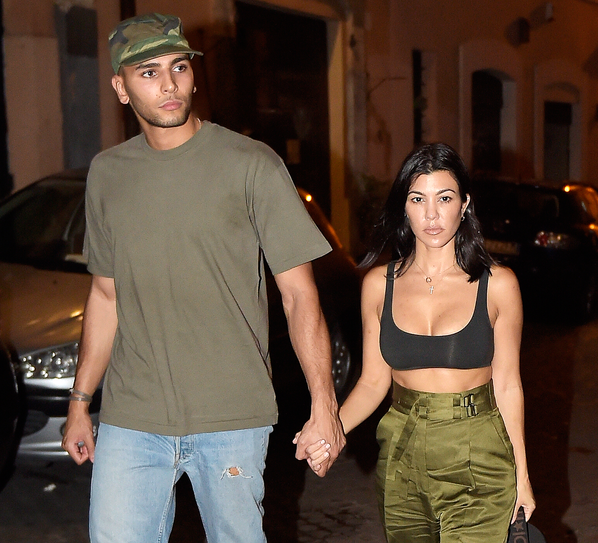 Younes Bendjima Denies Kourtney Kardashian Rebound
