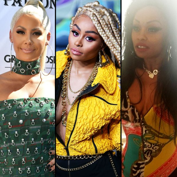 Amber Rose Calls Blac Chyna 'Family' After Tokyo Toni Fallout