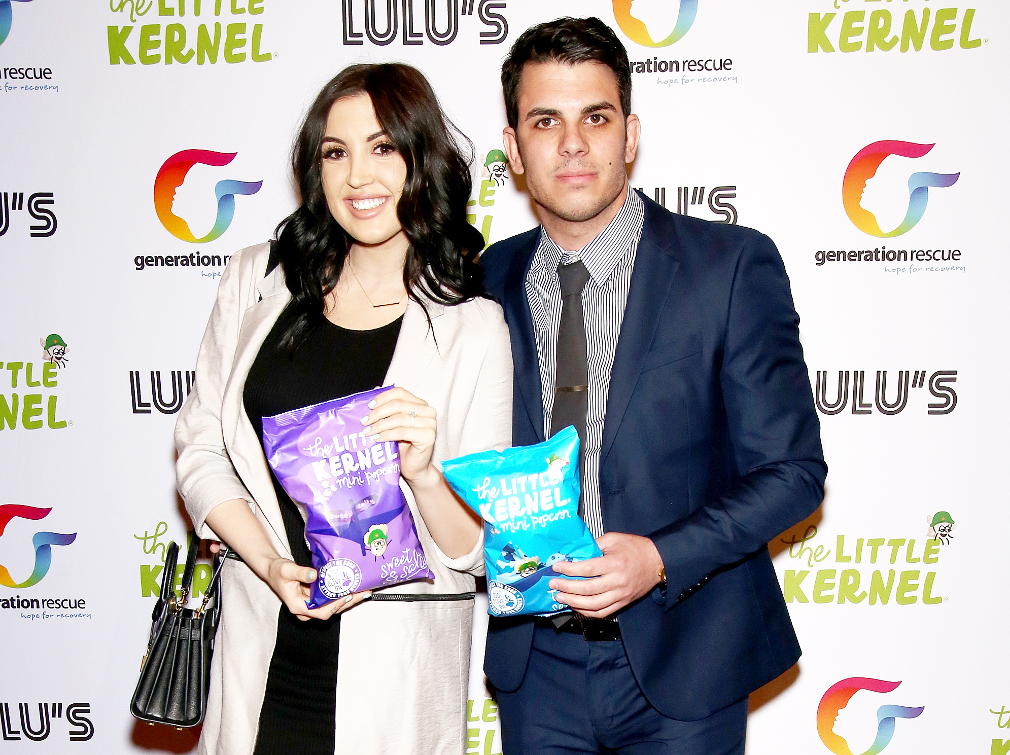 Ashlee Holmes Pete Malleo Married - Ashlee Holmes and Pete Malleo attend Chris Laurita's launch of 'The Little Kernel' mini-popcorn in Hoboken, New Jersey, on March 18, 2016.