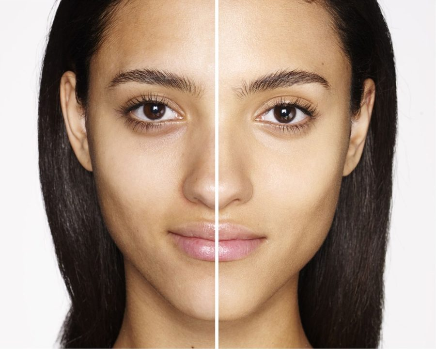 before and after charlotte tilbury magic cream