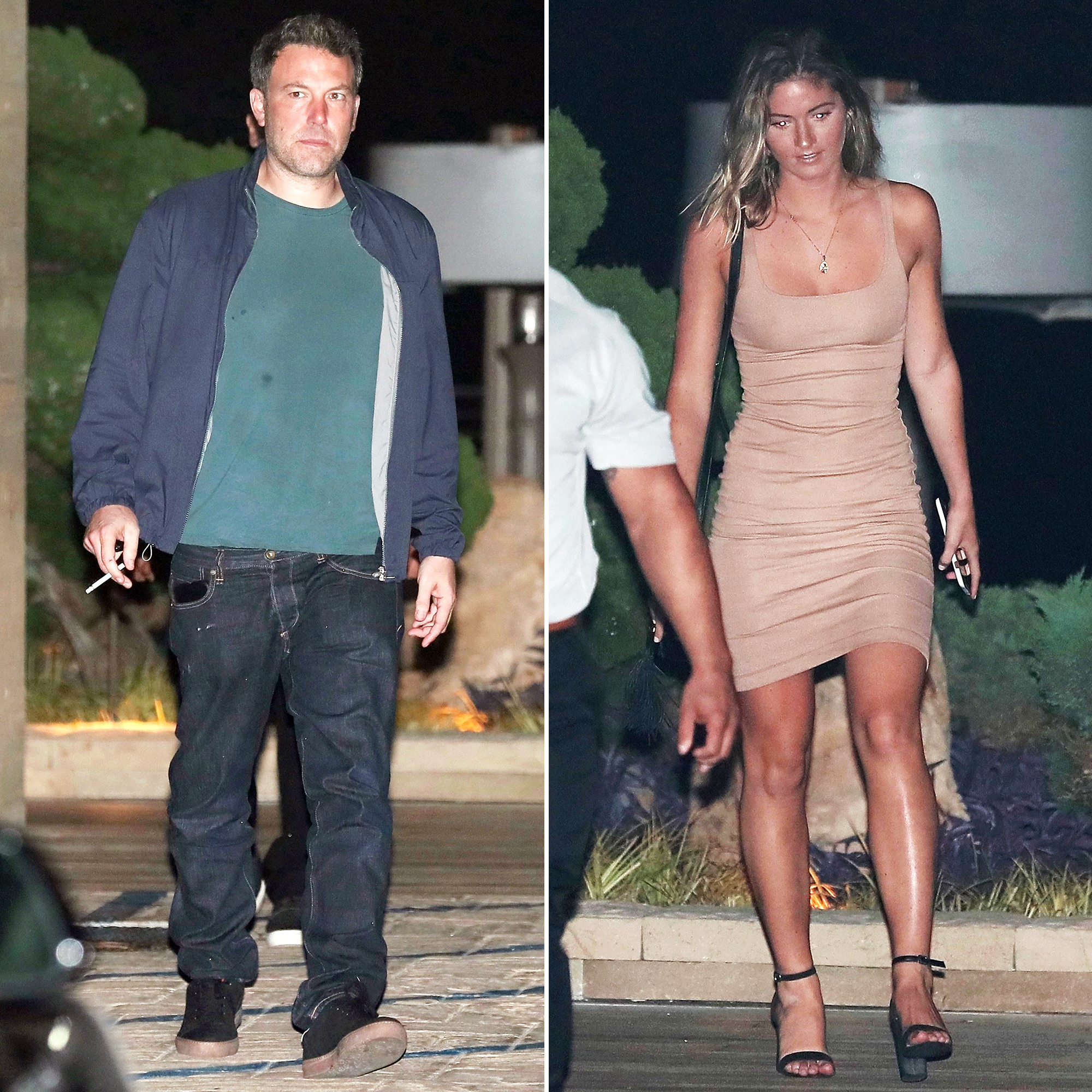 Ben Affleck Shauna Sexton Dinner Playboy Model
