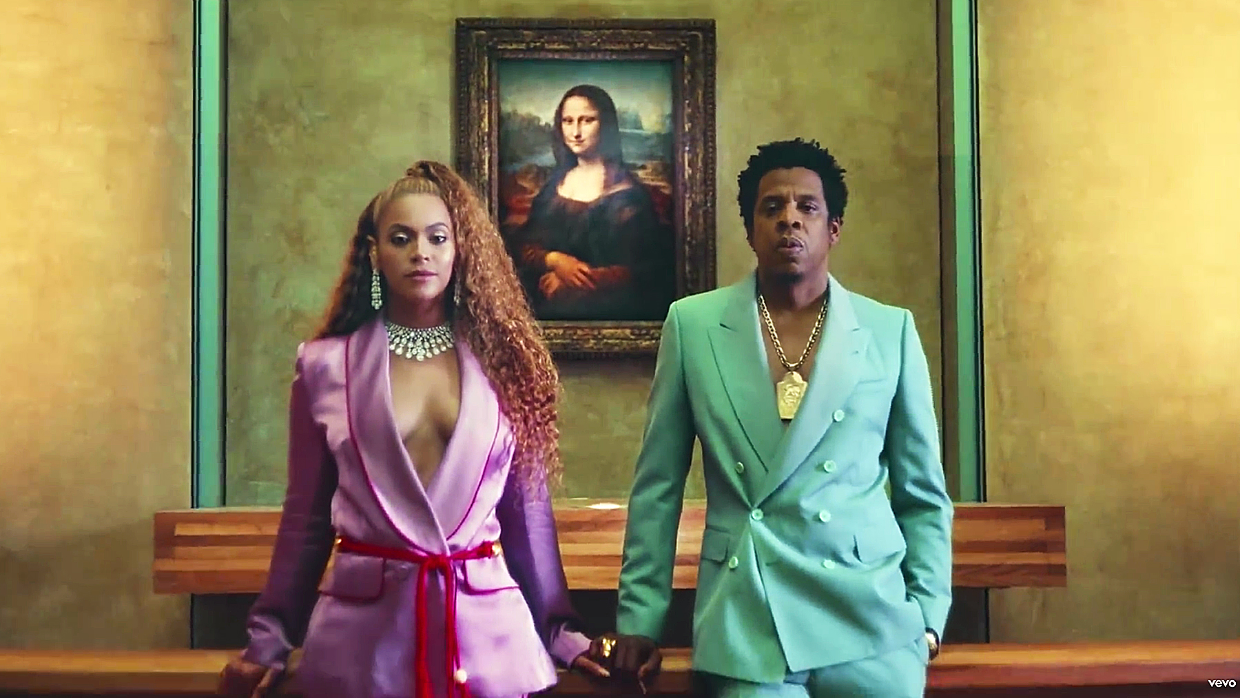 """Beyonce Jay Z Apeshit - The Carters surprised fans with the release of their long-rumored joint album, Everything Is Love. The same day, they dropped a music video for the project's lead single, """"Apes--t,"""" which they filmed at the Louvre museum in Paris."""