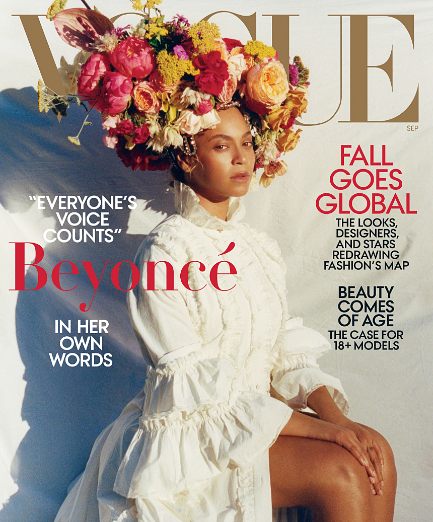 Beyonce Vogue Cover Pregnant Bed Rest Twins