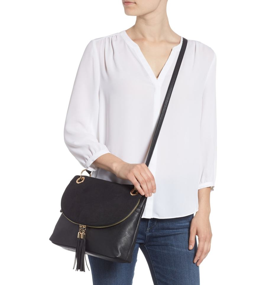 20e167fed1266 Save or Splurge  Shop the Chicest Crossbody Bags for Fall