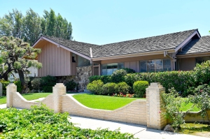 The iconic Brady Bunch home hits the market for the first time in 45 years for $1.9 million.