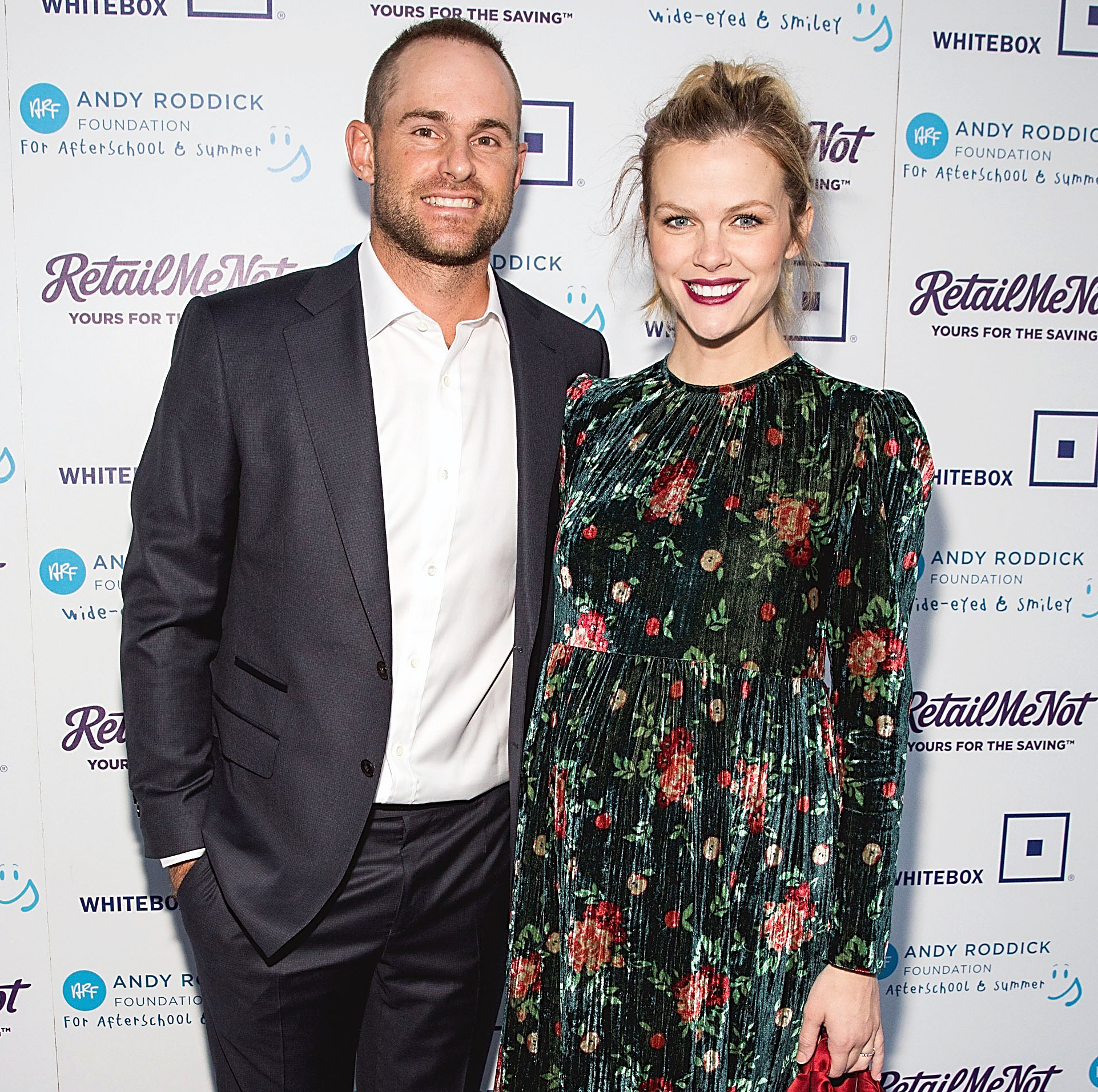 Brooklyn Decker Andy Roddick Diapers Parenting - Andy Roddick and Brooklyn Decker attend the 12th Annual Andy Roddick Foundation Gala at ACL Live on October 30, 2017 in Austin, Texas.