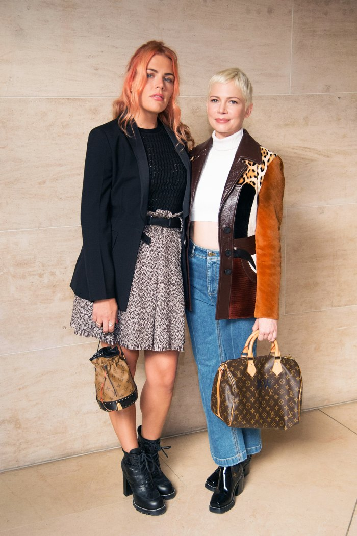 Busy Philipps and Michelle Williams.