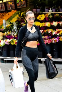 workout athleisure bella hadid
