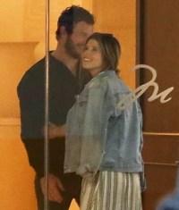 Chris Pratt Katherine Schwarzenegger Cozy PDA