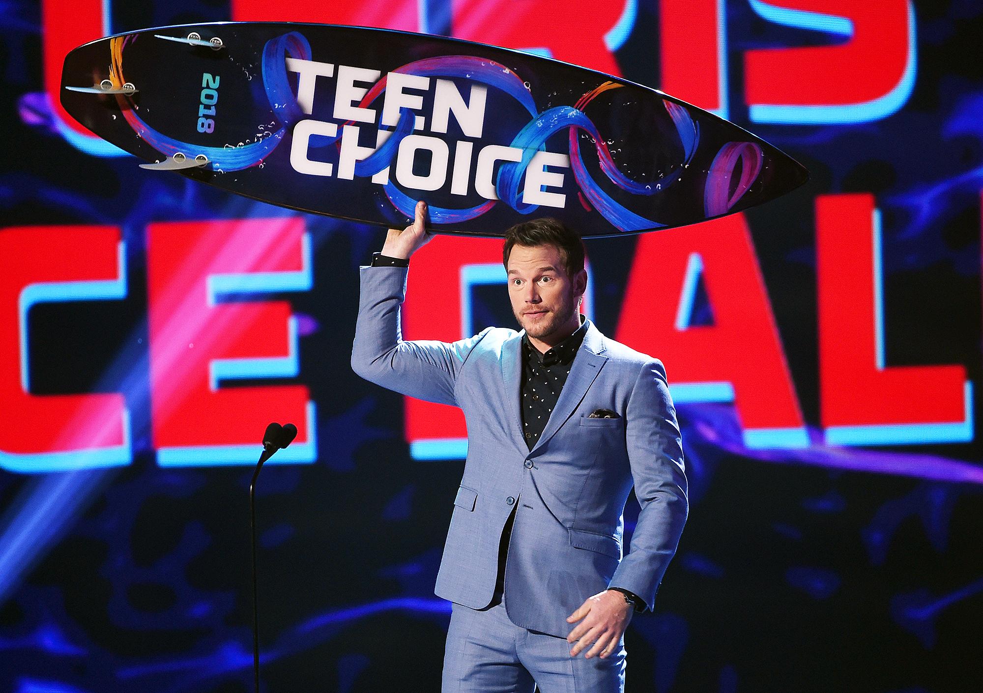 Chris Pratt Teen Choice Awards 2018