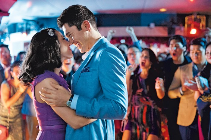 Henry Golding and Constance Wu.