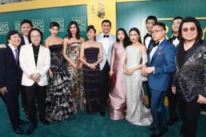 Crazy Rich Asians cast at Warner Bros. Pictures' 'Crazy Rich Asians' Premiere.