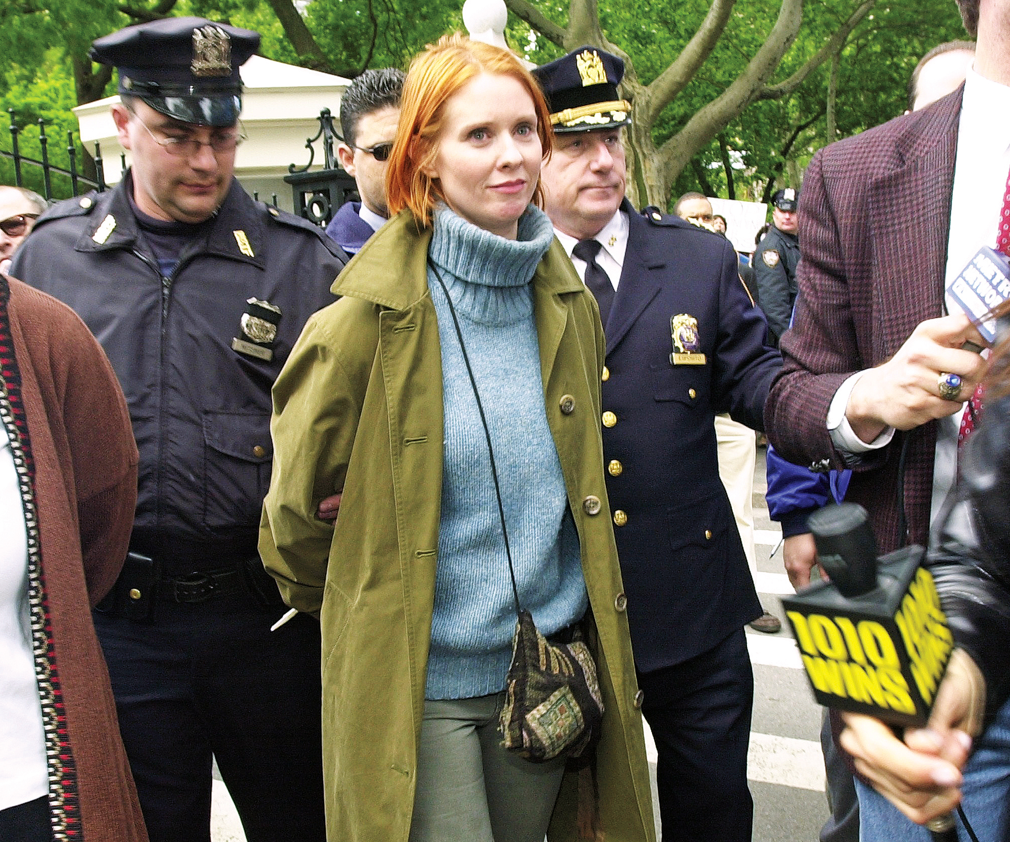 Cynthia Nixon 25 Things You Don't Know About Me Arrested