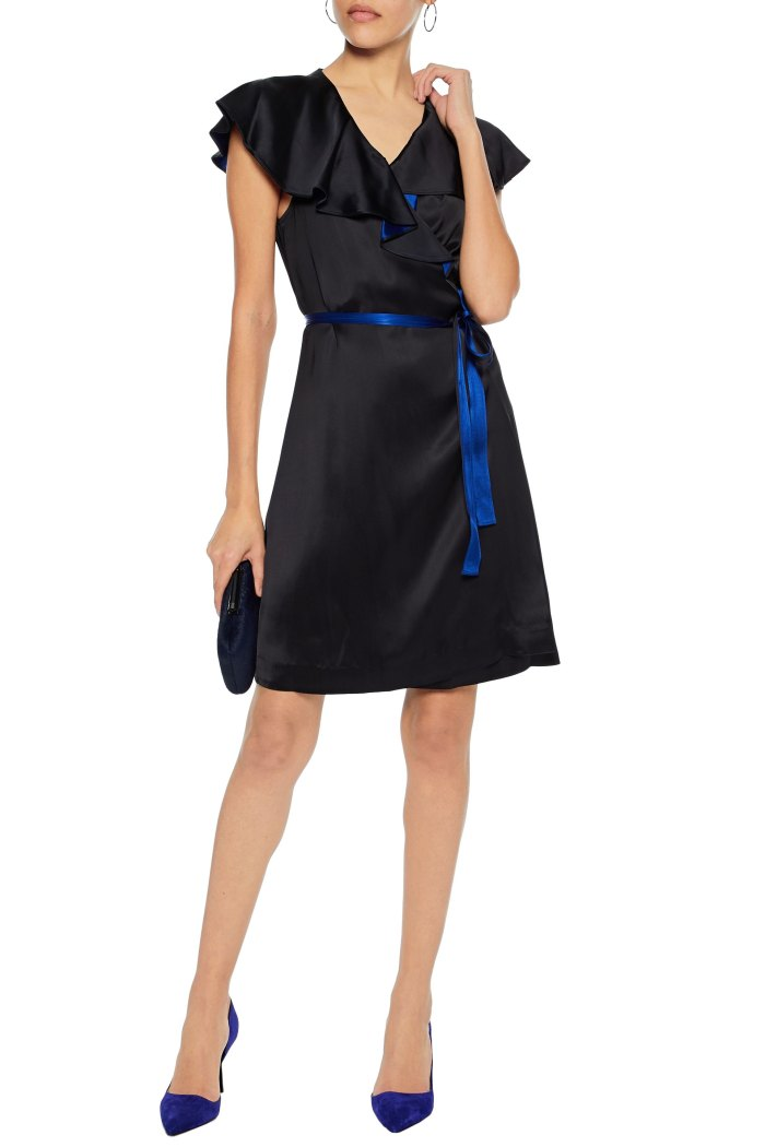 dvf wrap dress sale