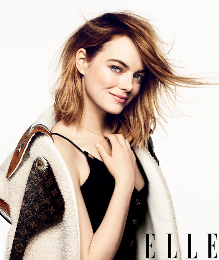 Emma Stone ELLE Magazine Marriage Kids