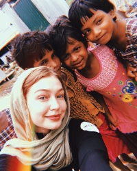 Gigi Hadid UNICEF