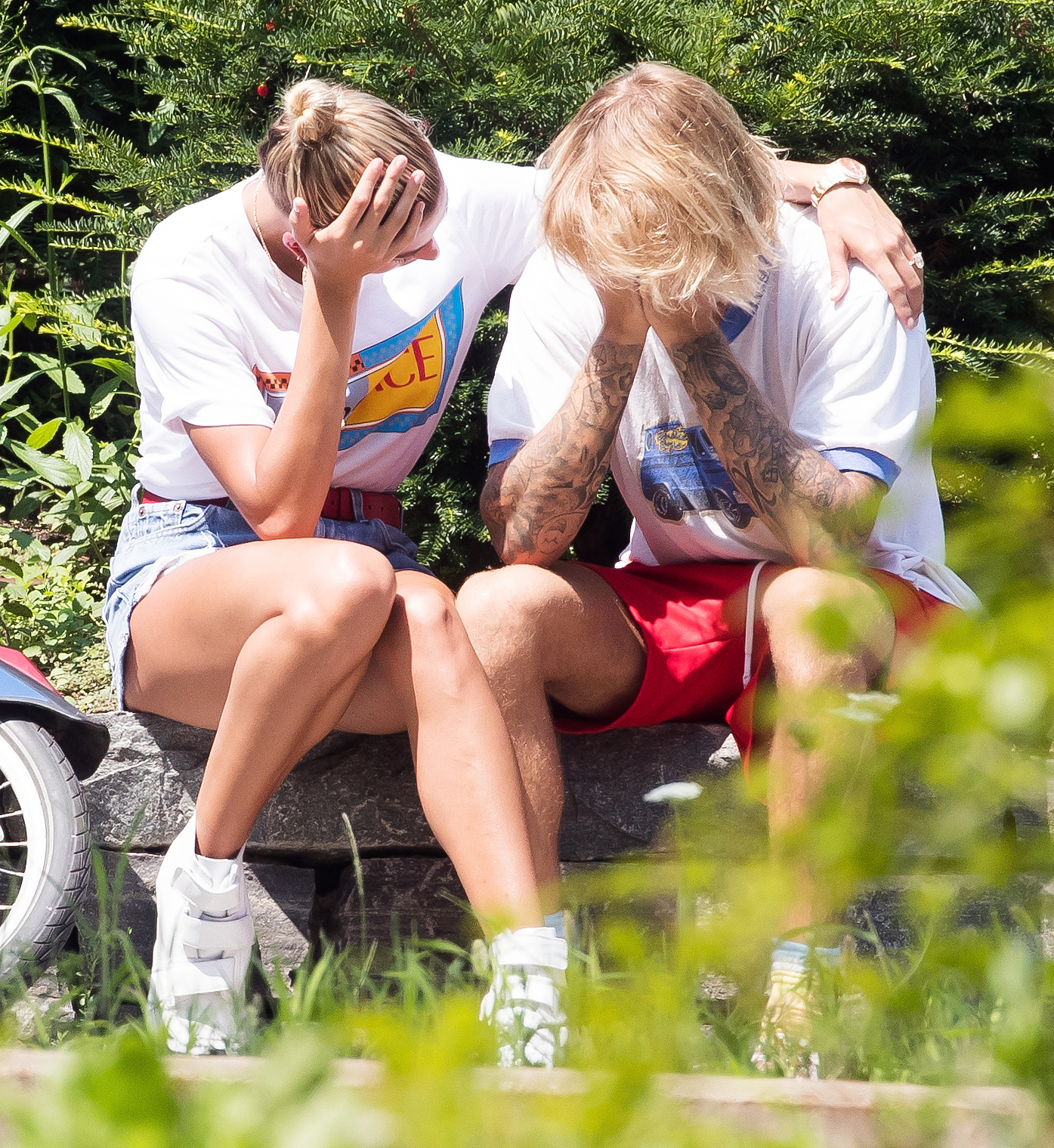 Hailey Baldwin Justin Bieber Crying