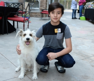 Hallmark Channel's Happy the Dog Hosts Backyard BBQ for Ronald McDonald House Kids