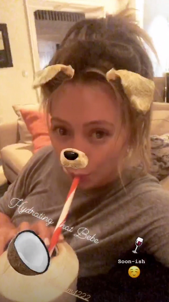 Hilary Duff Pregnancy Cravings