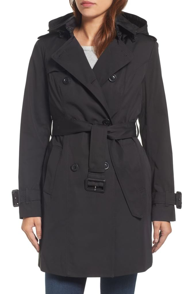 hooded trench coat nordstrom london fog