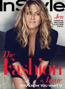 Jennifer Aniston cover Instyle September issue