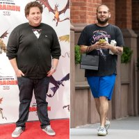 Jonah Hill before and after weight loss