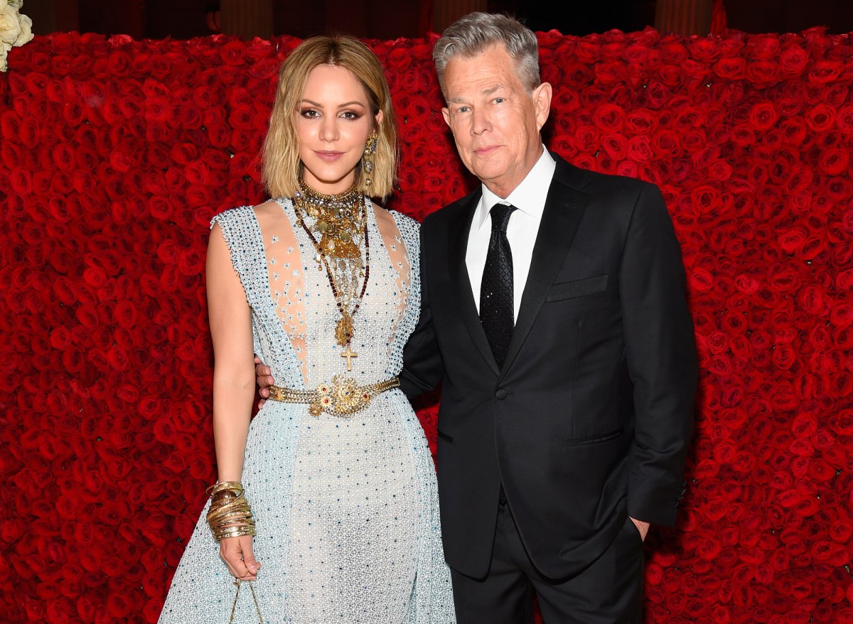 Every Time Katharine Mcphee Joked About David Foster Age Difference
