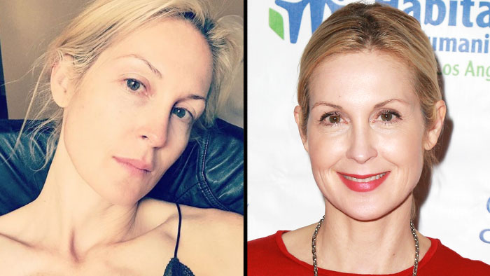 Kelly Rutherford - The former Gossip Girl actress posted a bare-faced selfie to her feed on the evening of Monday, August 27. In full view: her insanely perfect skin.
