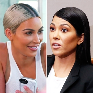 Kim Kardashian Slams Kourtney Kardashian Entitled