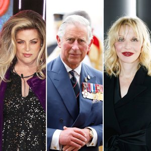 Kirstie Alley, Prince Charles, and Courtney Love