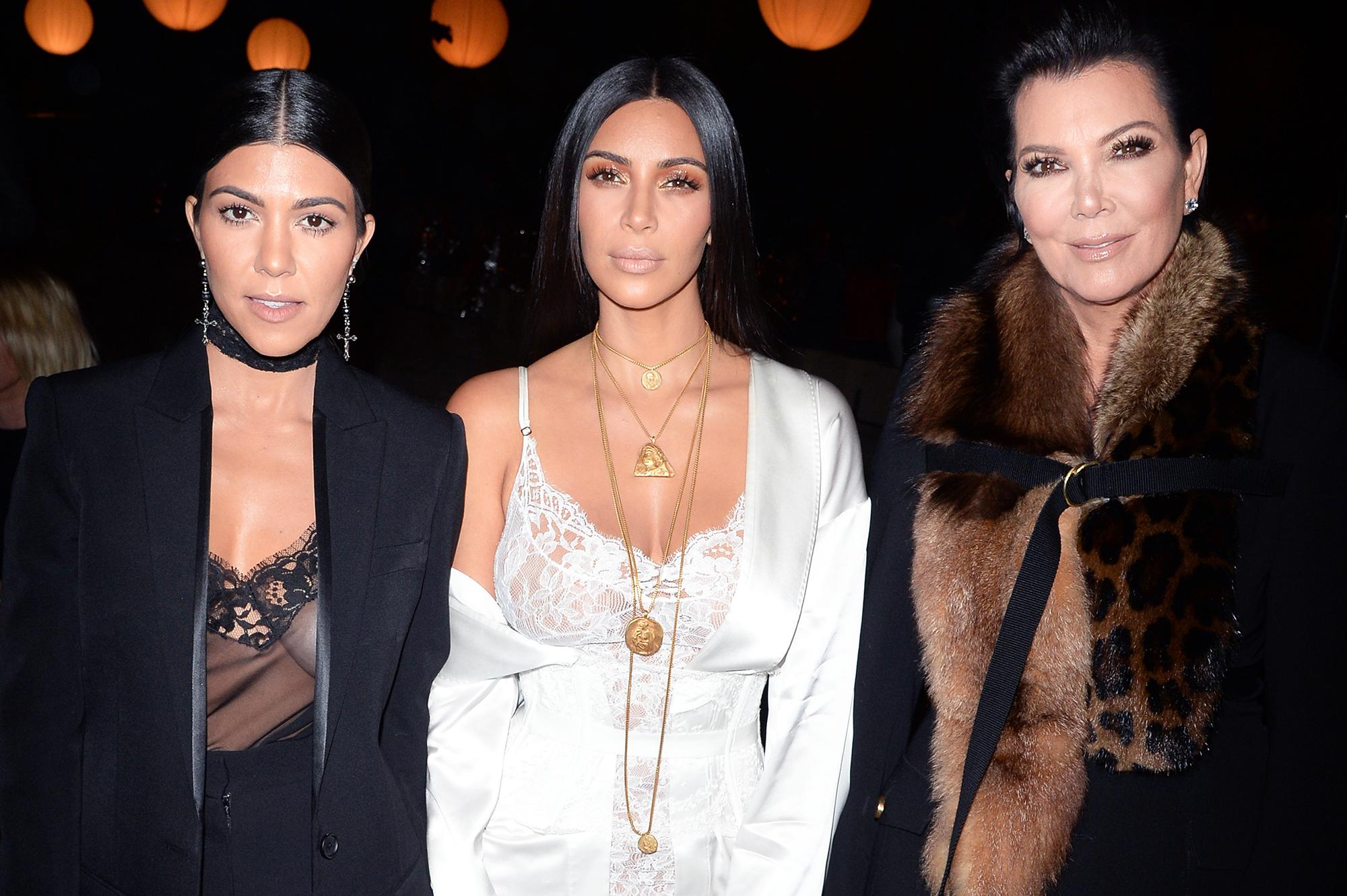 Kris Jenner Talks Kim Kardashian, Kourtney Kardashian \'Dirty\' Feud