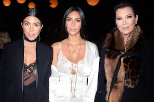 Kourtney Kardashian, Kim Kardashian and Kris Jenner.