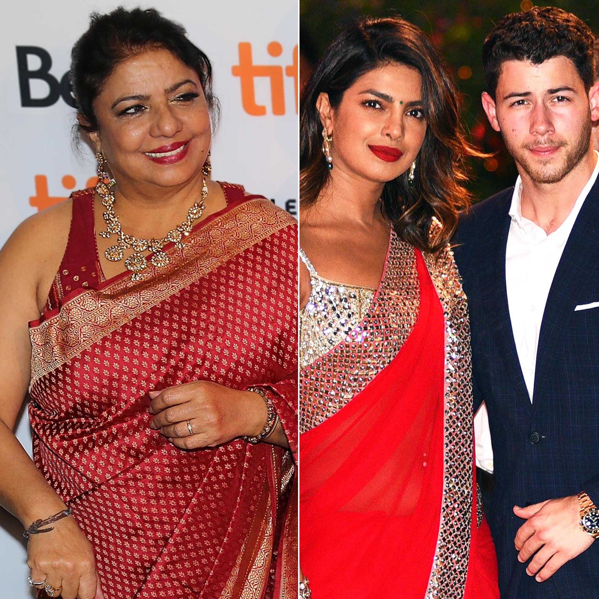 priyanka chopra's mom gushes over nick jonas engagement