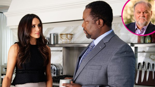 Duchess Meghan's 'Suits' Dad Gives Advice to Thomas Markle
