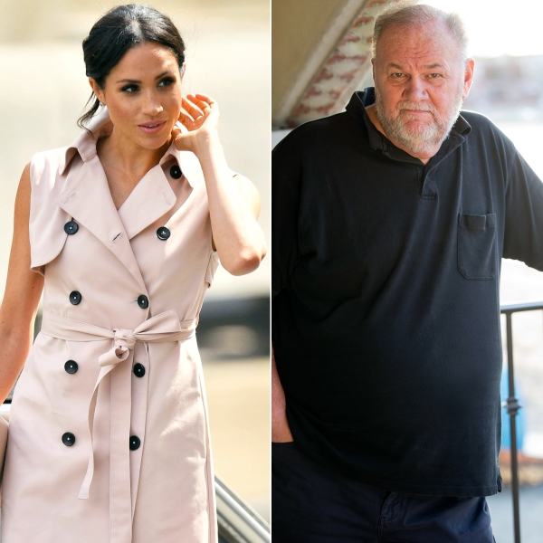 Duchess Meghan Is 'Still Anxious' Over Her Father Thomas Markle