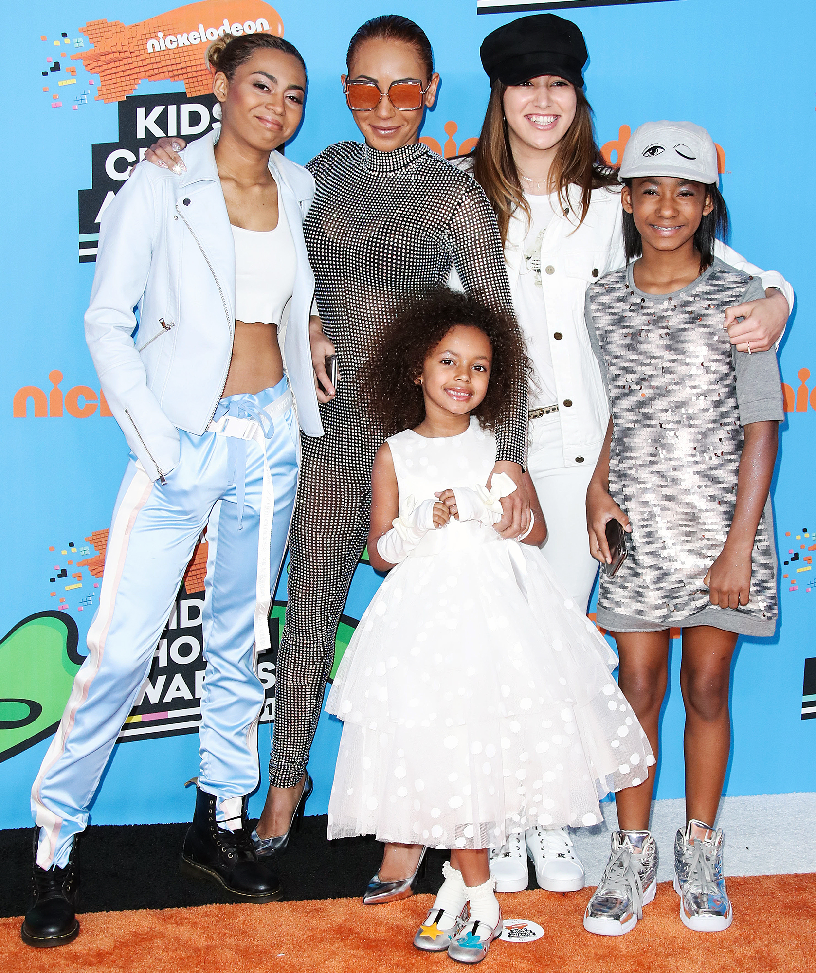 Mel B Daughters Single Mom