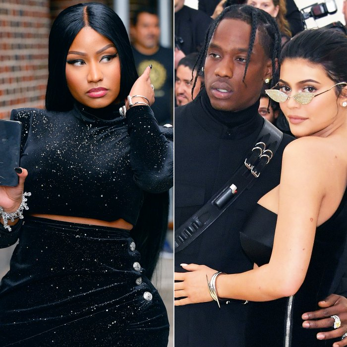 Nicki Minaj Calls Out Travis Scott and Kylie Jenner After His Album Charts Higher