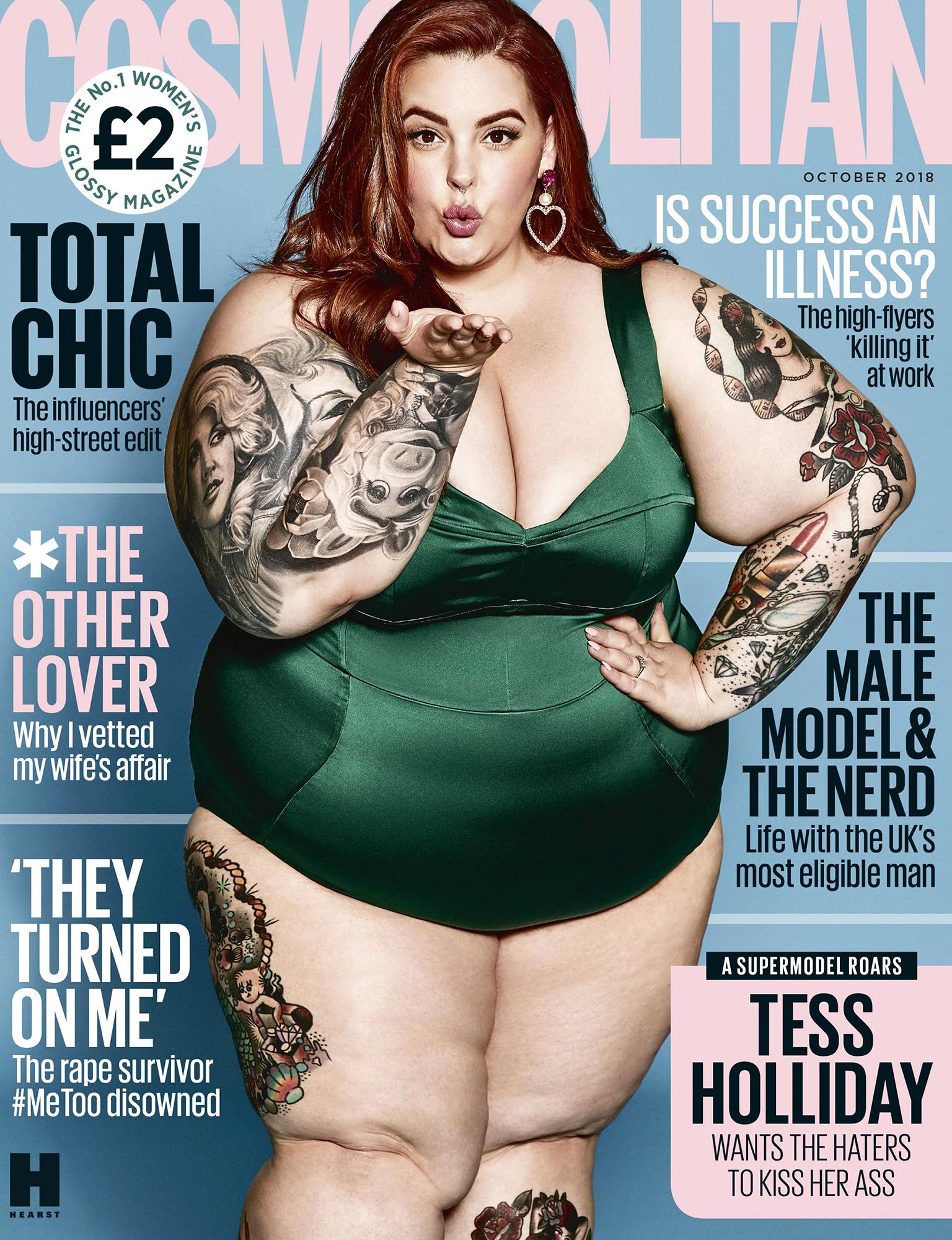 Piers Morgan Criticizes Tess Holliday Cosmopolitan Cover