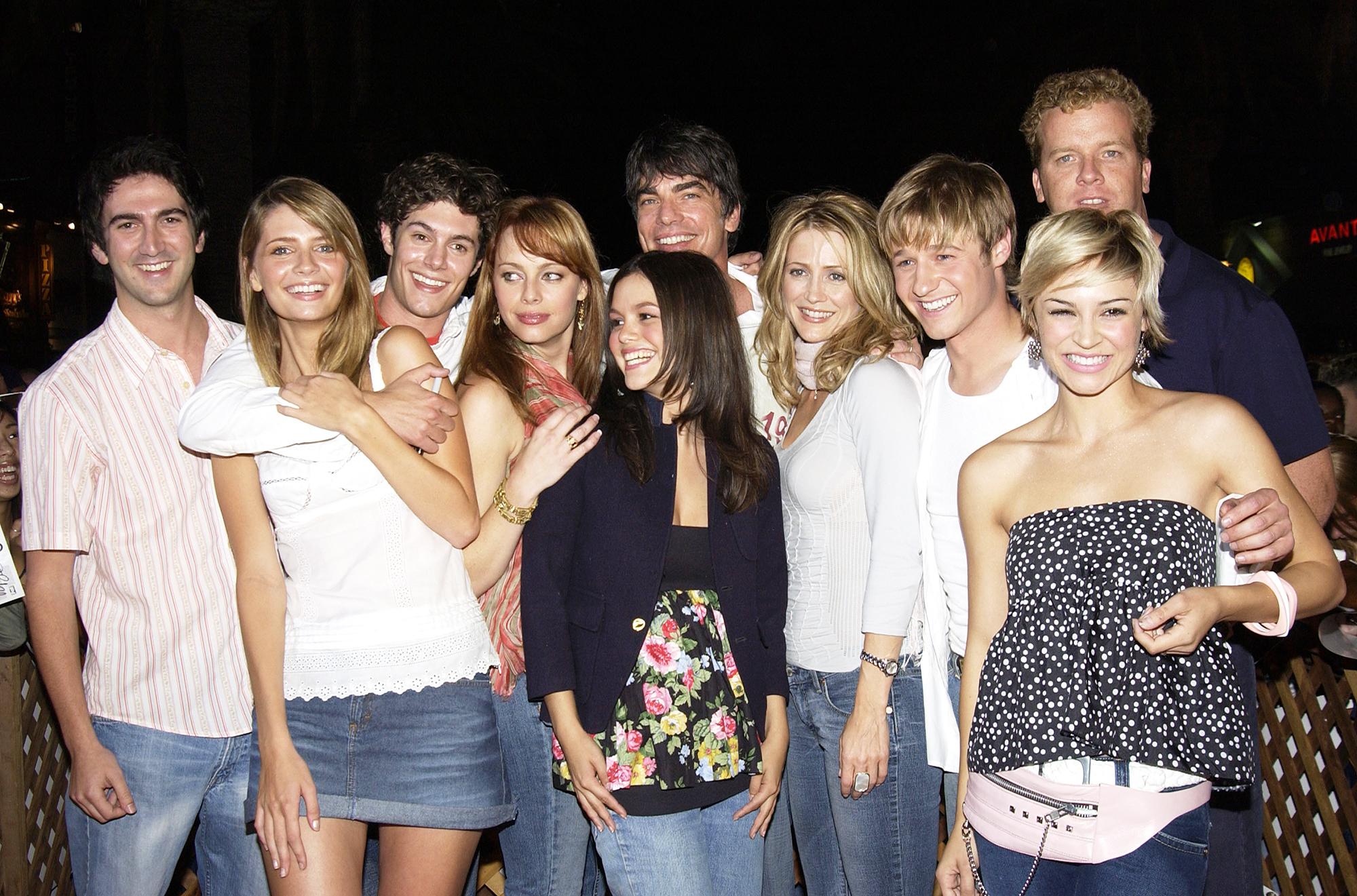 Rachel Bilson OC Cast Throwback Photo
