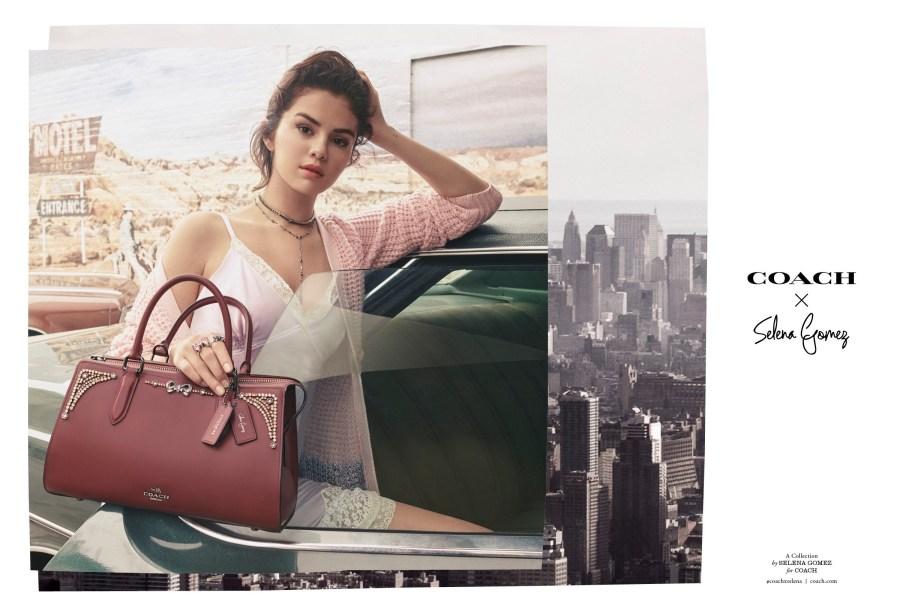 b4eee0c54 Fall 2018 Coach x Selena Gomez Bags